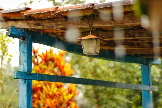 Vandskade i hus på grund af regn