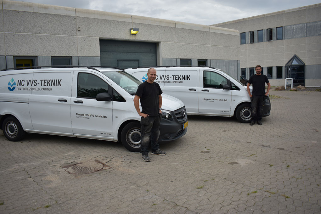 NC VVS installatør i Allerød og Nordsjælland